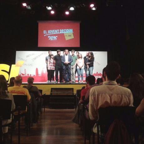 Candidats i candidates de les JERC a la llista liderada per Alfred Bosch
