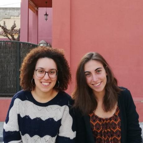 Les candidates de Caldes de Malavella, Anna Tresserras i Susanna Miquel