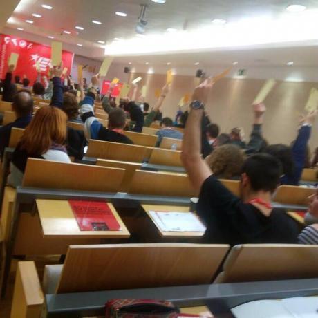 En Consell Nacional de les JERC aprova la resolució per unanimitat