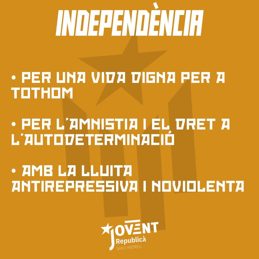 Milita per la independència dels PPCC!
