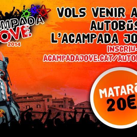 Vine a l'Acampada Jove 2014 en autobus!