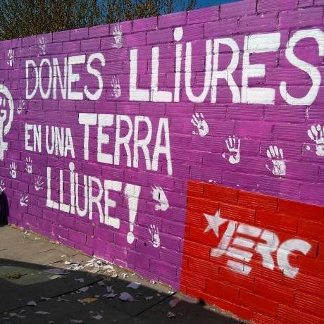 Mural fet a l'Avinguda dels Països Catalans (Balaguer)