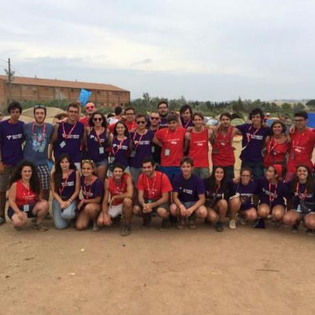Les JERC Vallès Oriental a l'Acampada Jove celebrada a Montblanc al Juliol