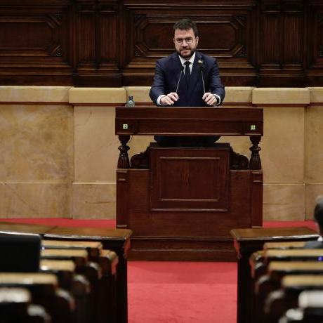 Pere Aragonès ha estat escollit el 132è president de la Generalitat de Catalunya