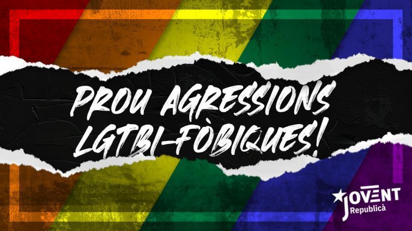 Agressió LGTBIfòbica a un militant del Jovent Republicà de Menorca