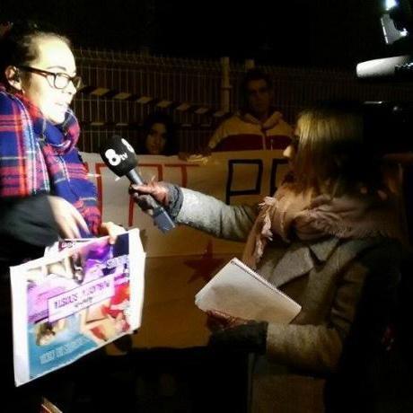 Entrevista en directe a Mataró Lliure de Sexisme per 8tv