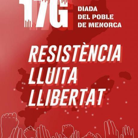 Aquesta Diada siguem la força de Menorca!