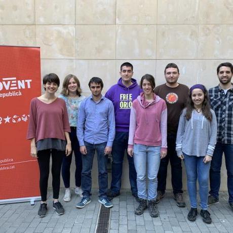Els candidats del Jovent Republicà es presenten per combatre el règim del 78