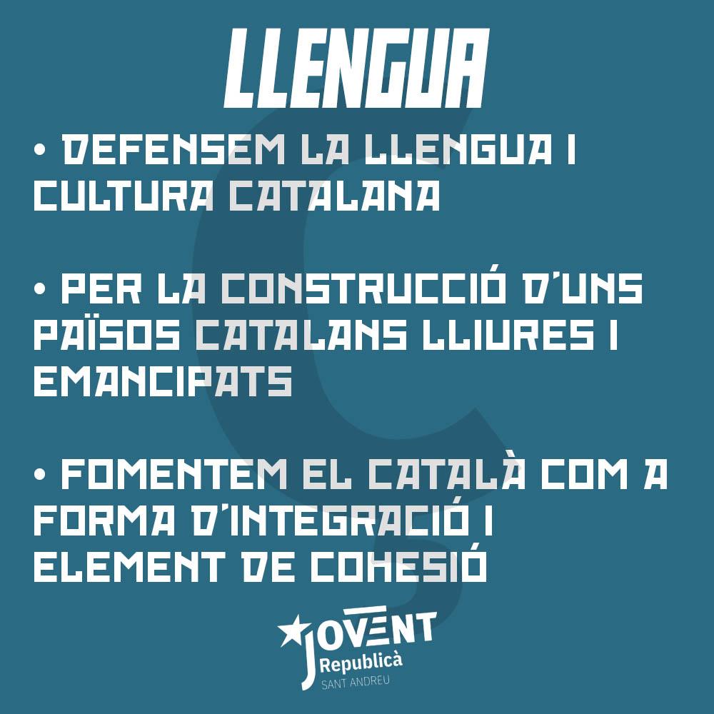 Milita per la llengua catalana!