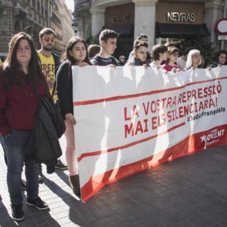 Els poders de l'Estat estan perseguint els presos polítics, la llibertat i els drets de tothom