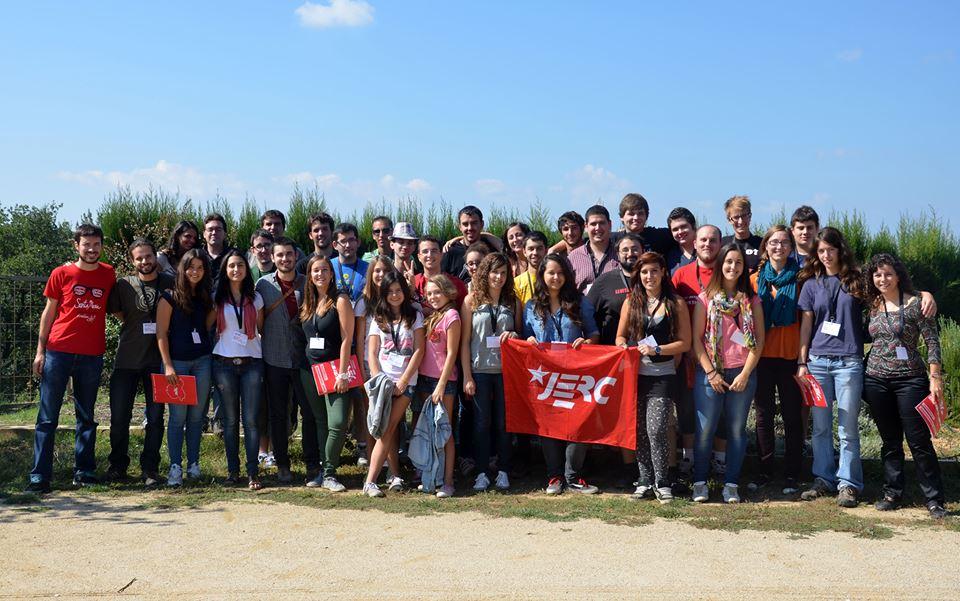 Foto de família dels assistents al IV Congrés Regional