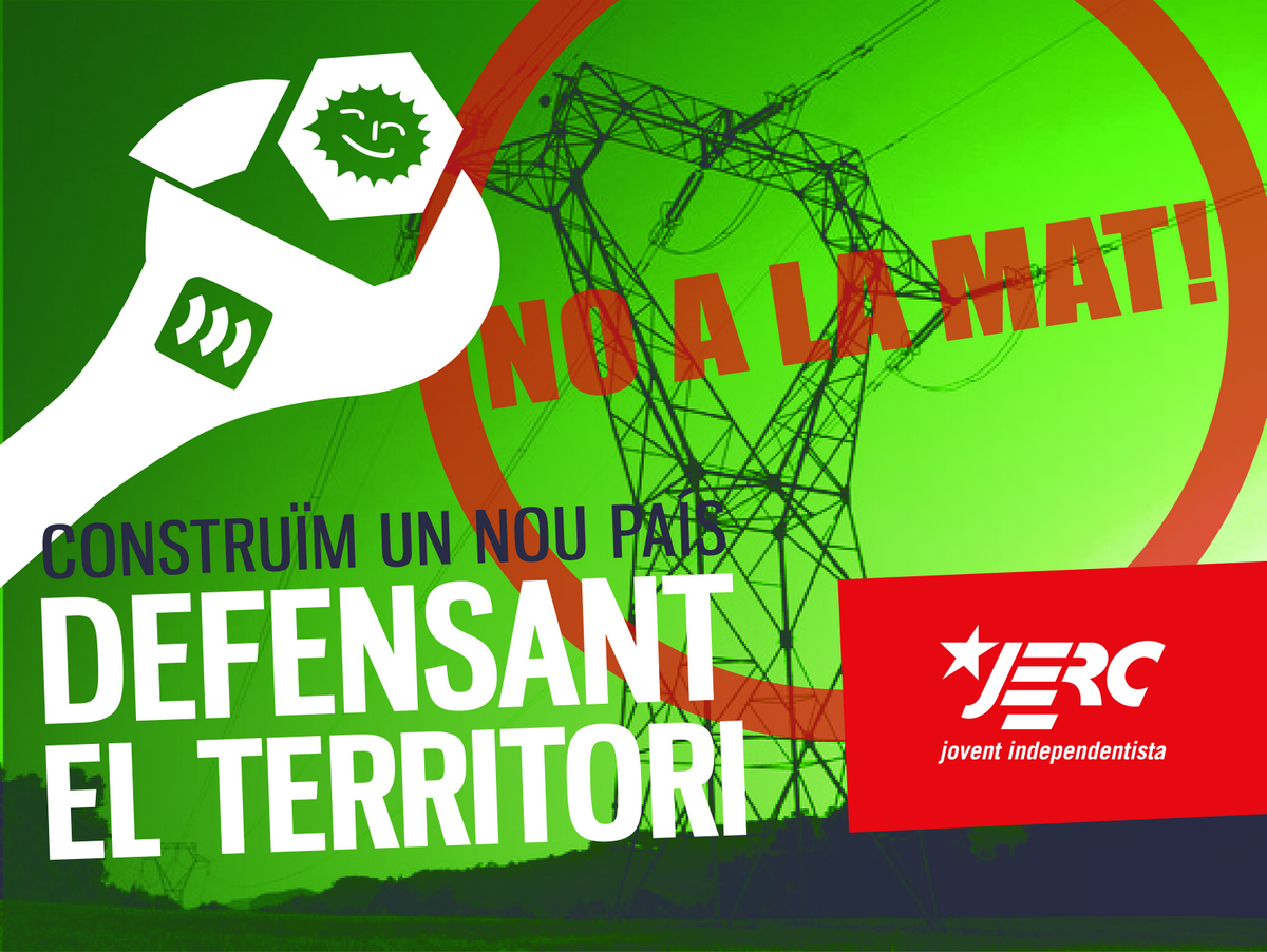 No a la MAT. Defensem el Territori!