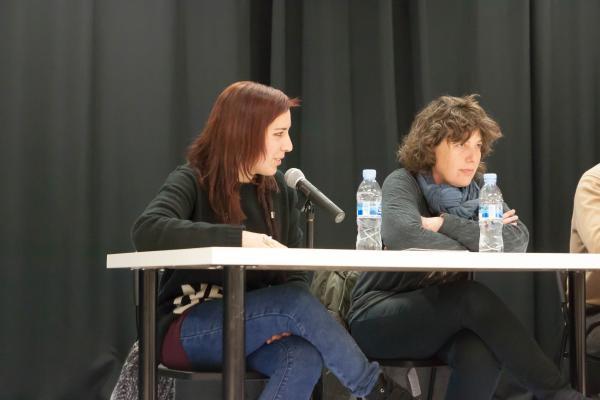 Ànnia Dilmé a la presentació JERC SCF