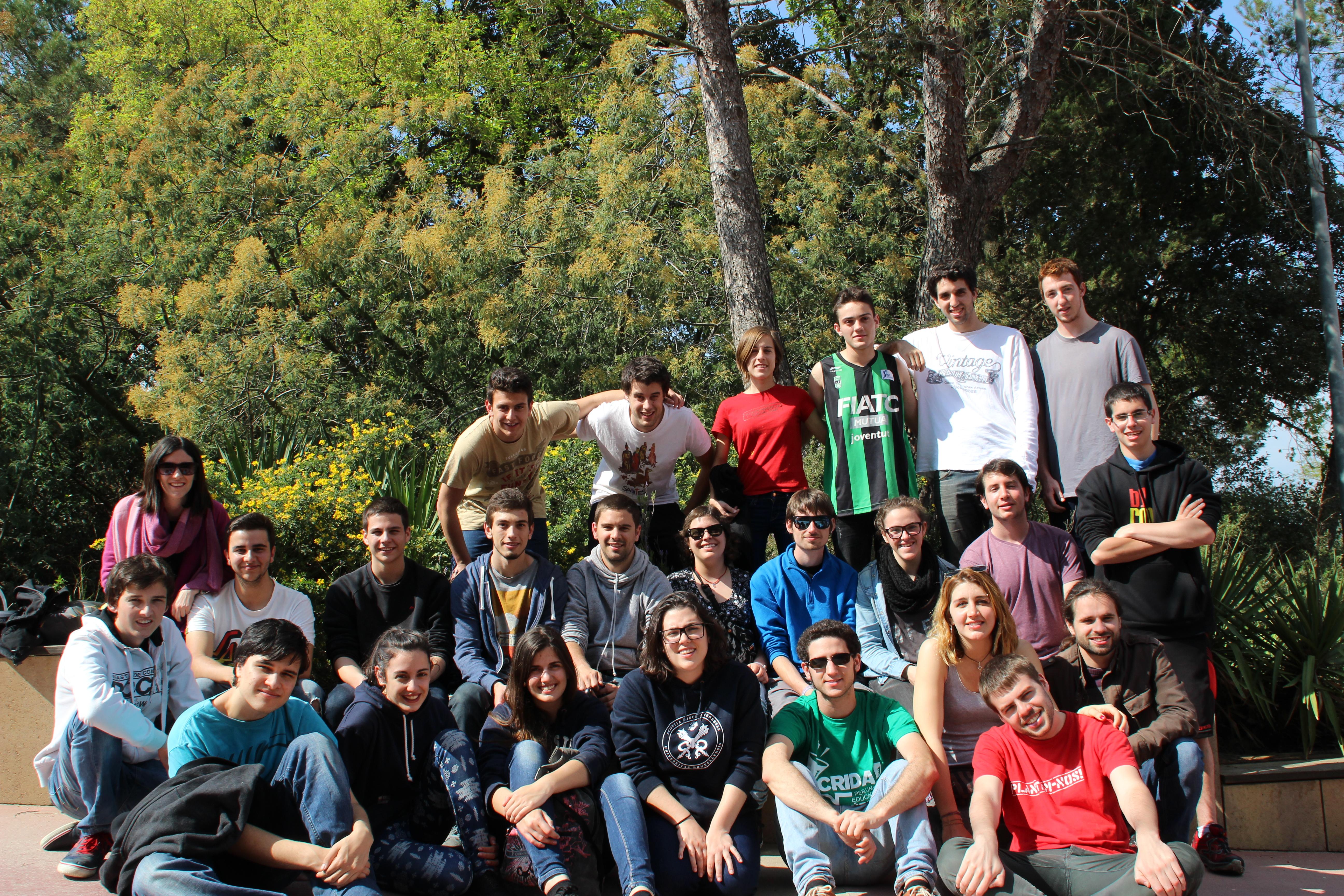 Foto final de grup de l'escola