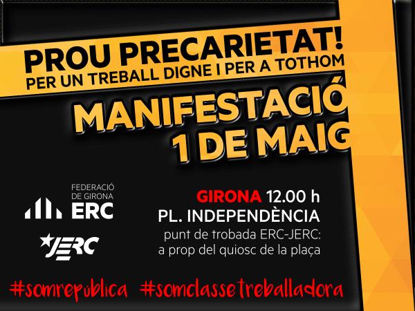 Manifestació Girona 1M
