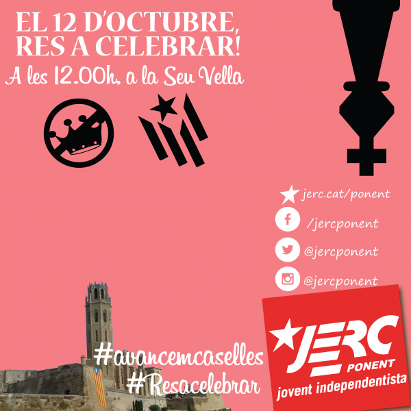 Convocatòria 12 d'octubre del 2016 a Lleida