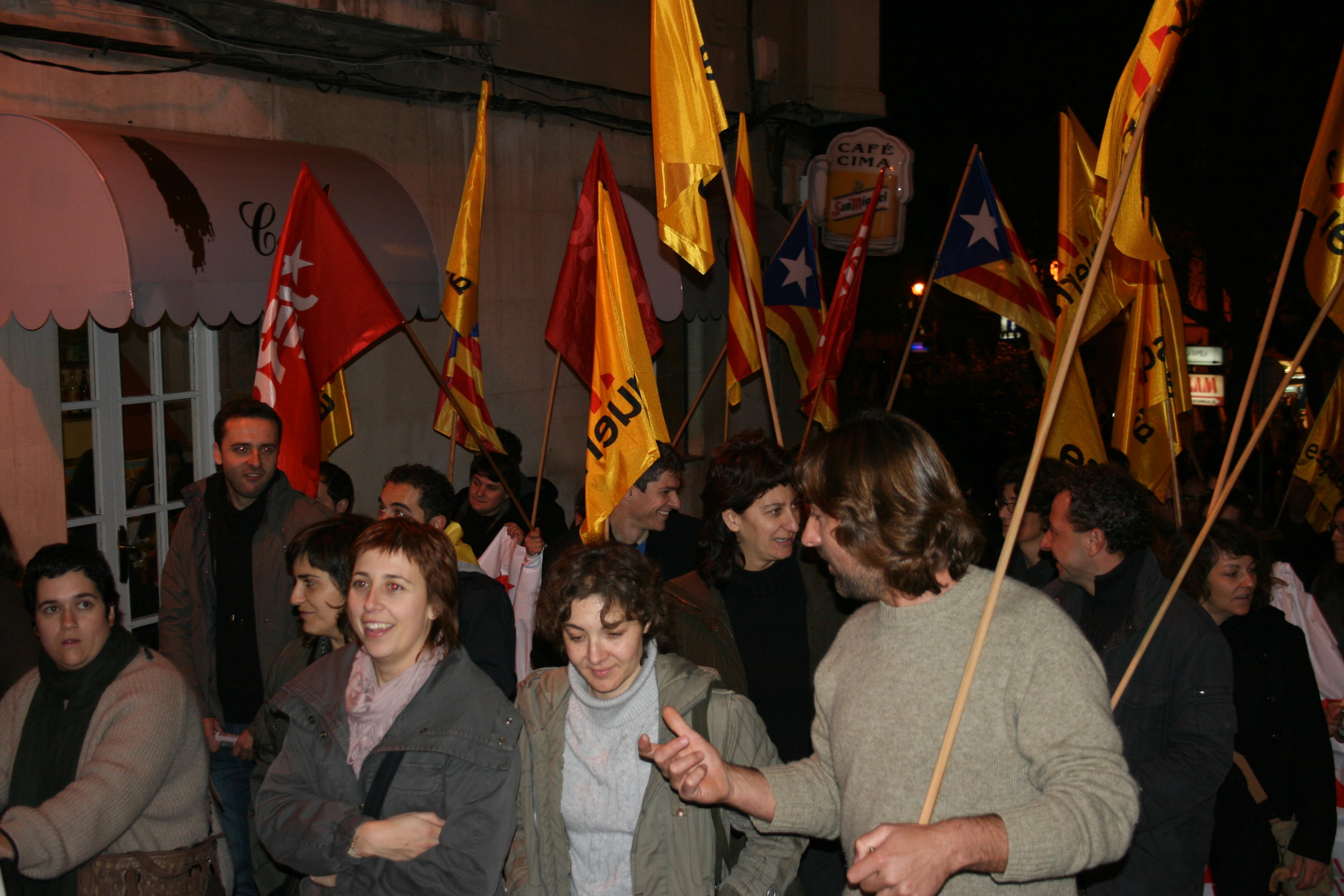 Manifestació pel 31D, diada de Mallorca