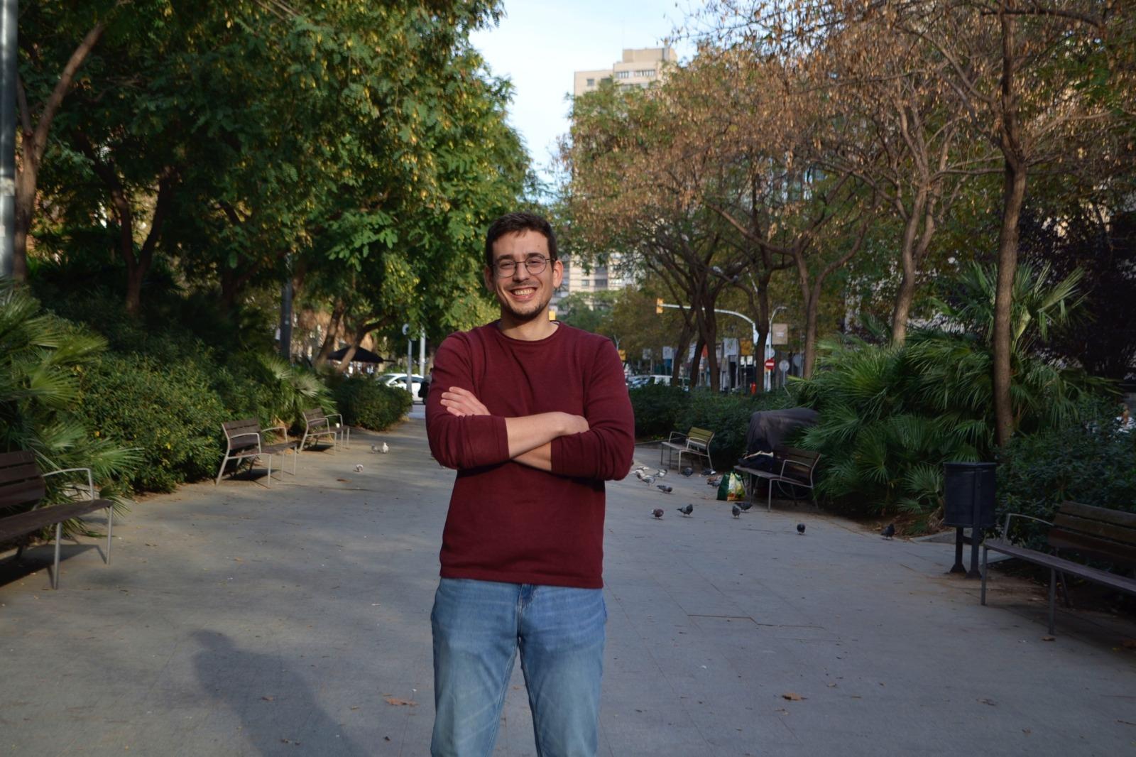 Oriol Casanellas, candidat del Jovent Republicà Penedès-Anoia