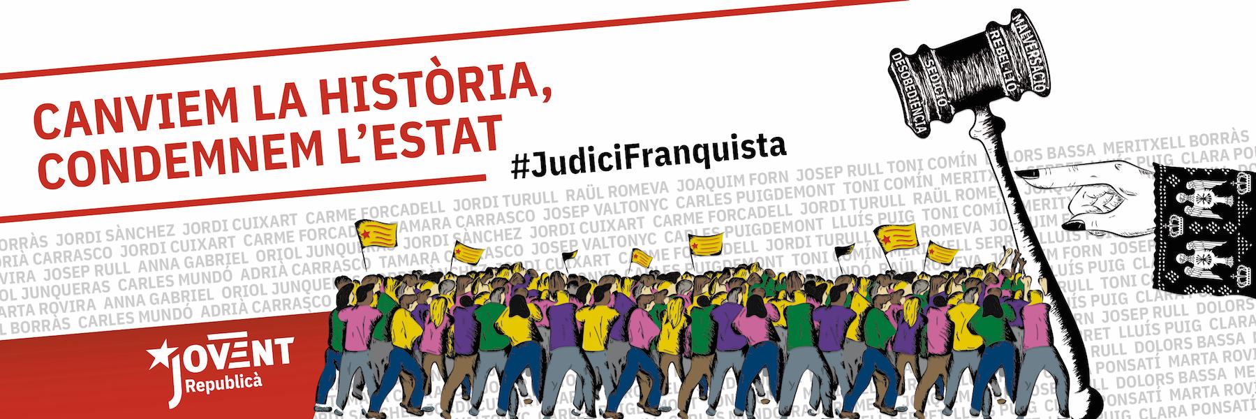Mobilitzem-nos contra el judici franquista