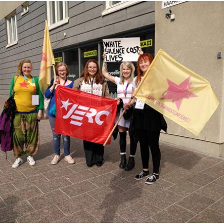 Participem al congrés de la Left Youth of Finland