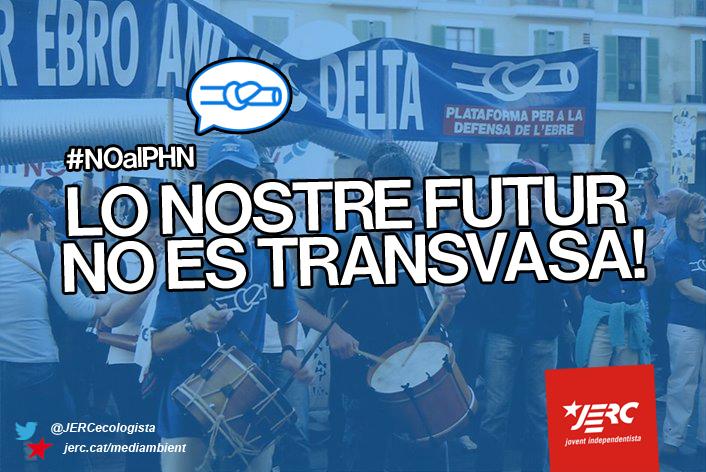 El nostre futur no es transvasa