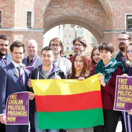 La European Free Alliance Youth, compromesa amb la llibertat dels presos polítics