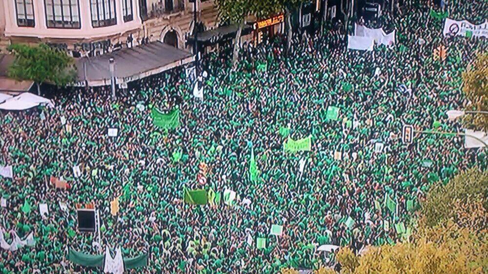 Manifestació a Palma contra el TIL