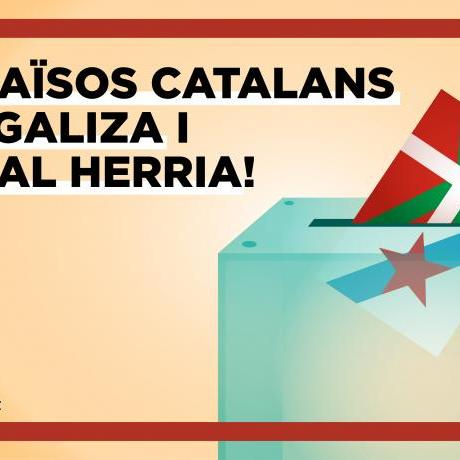 Volem repúbliques de drets i llibertats pel jovent basc i gallec!