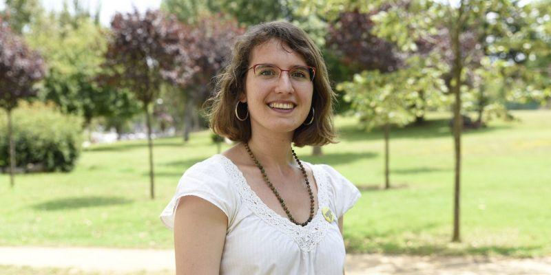 Alba Gordó, regidora del Jovent Republicà a Sant Cugat del Vallès
