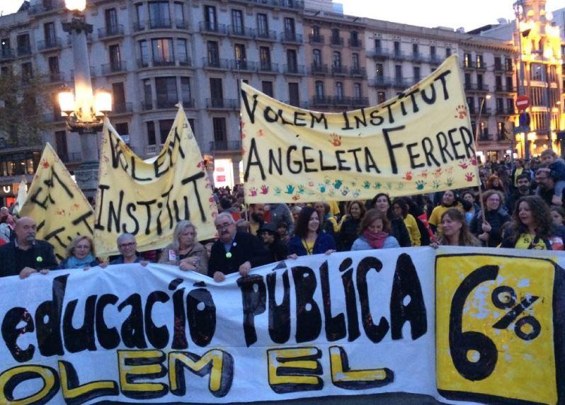 Fotografia de la manifestació