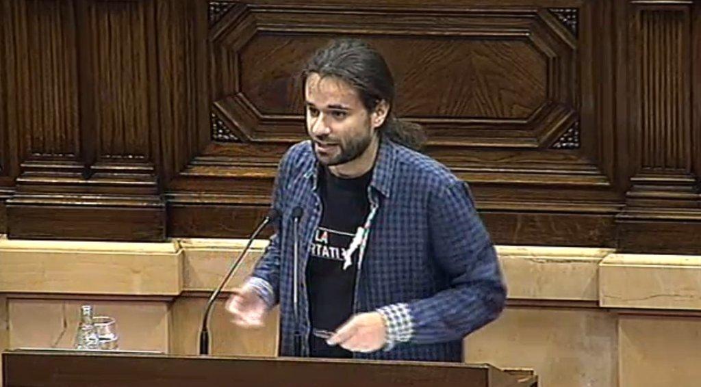 Gerard Gómez del Moral al Parlament