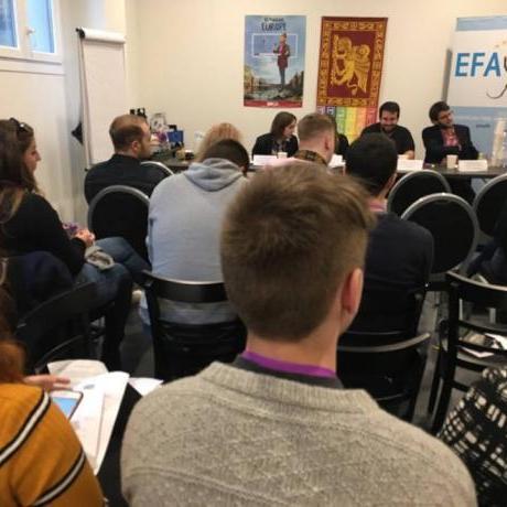 L'assemblea de l'EFAy ha reunit totes les organitzacions polítiques juvenils que treballen per una Europa dels pobles
