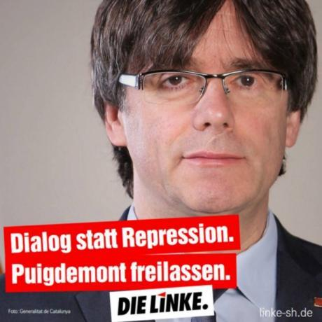 Comunicats en suport a la no extradició de Puigdemont