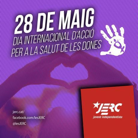 28 DE MAIG. DIA INTERNACIONAL D'ACCIÓ PER A LA SALUT DE LES DONES