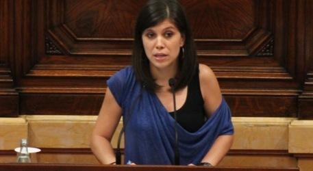 Marta Vilalta al Parlament de Catalunya