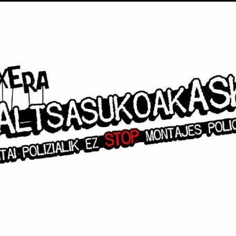 Reclamem la llibertat dels presos polítics d'Altsasu