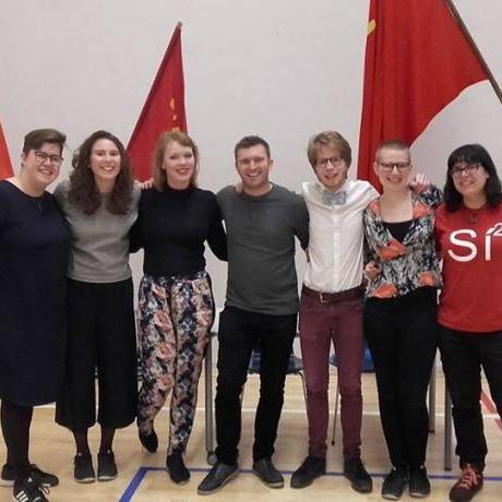 Participem al congres del Socialistisk Folkepartis Ungdom danès