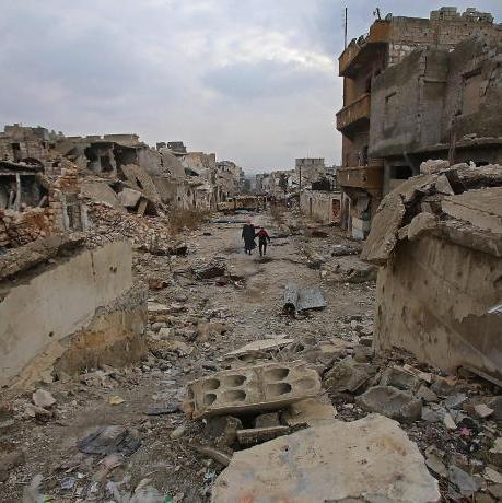 Síria, un país devastat.