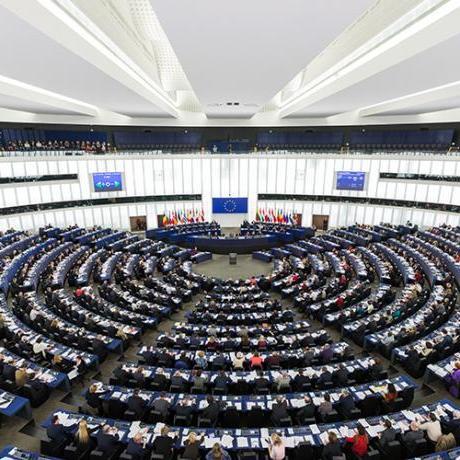 Ple del parlament europeu a Estrasburg