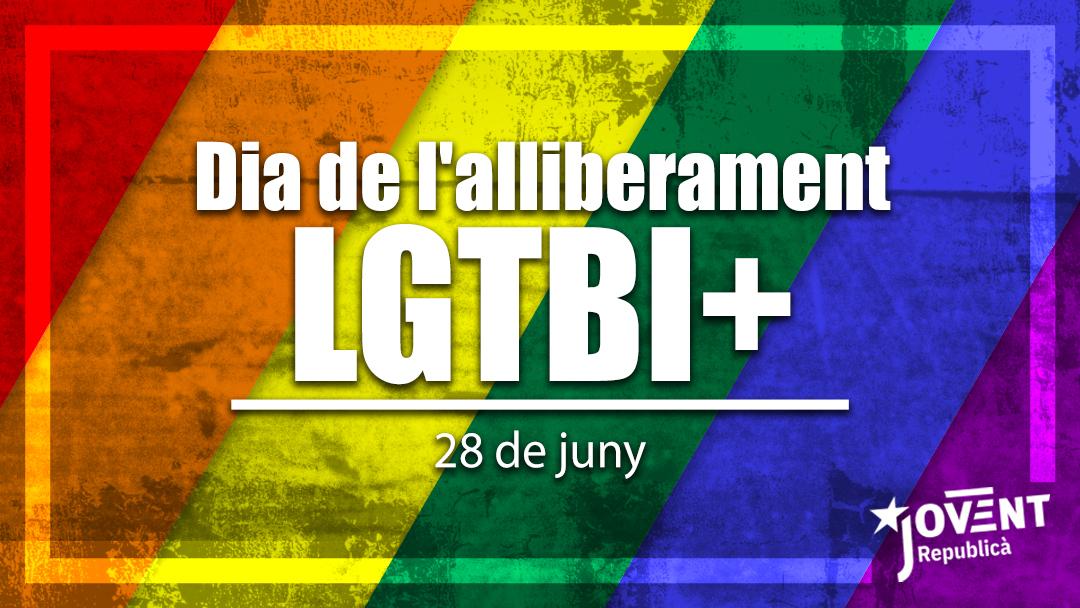 La lluita del col·lectiu LGTBI és una necessitat i un deure!