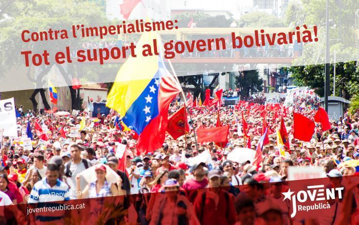 El jovent dels Països Catalans amb la Revolució Bolivariana!