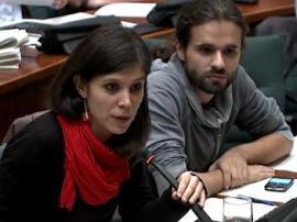 Marta Vilalta i Gerard Gómez del Moral a la comissió de polítiques de joventut