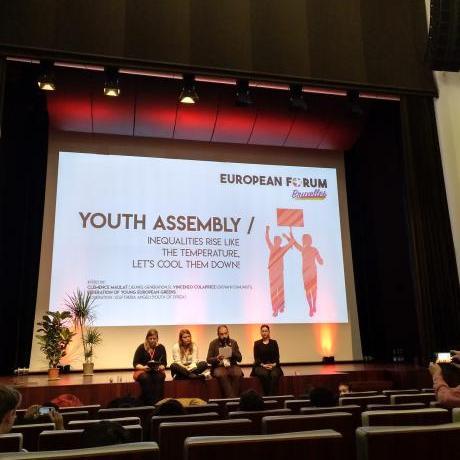 El Jovent Republicà vam participar de l'Assemblea Jove en el marc del Fòrum Europeu de Brussel·les