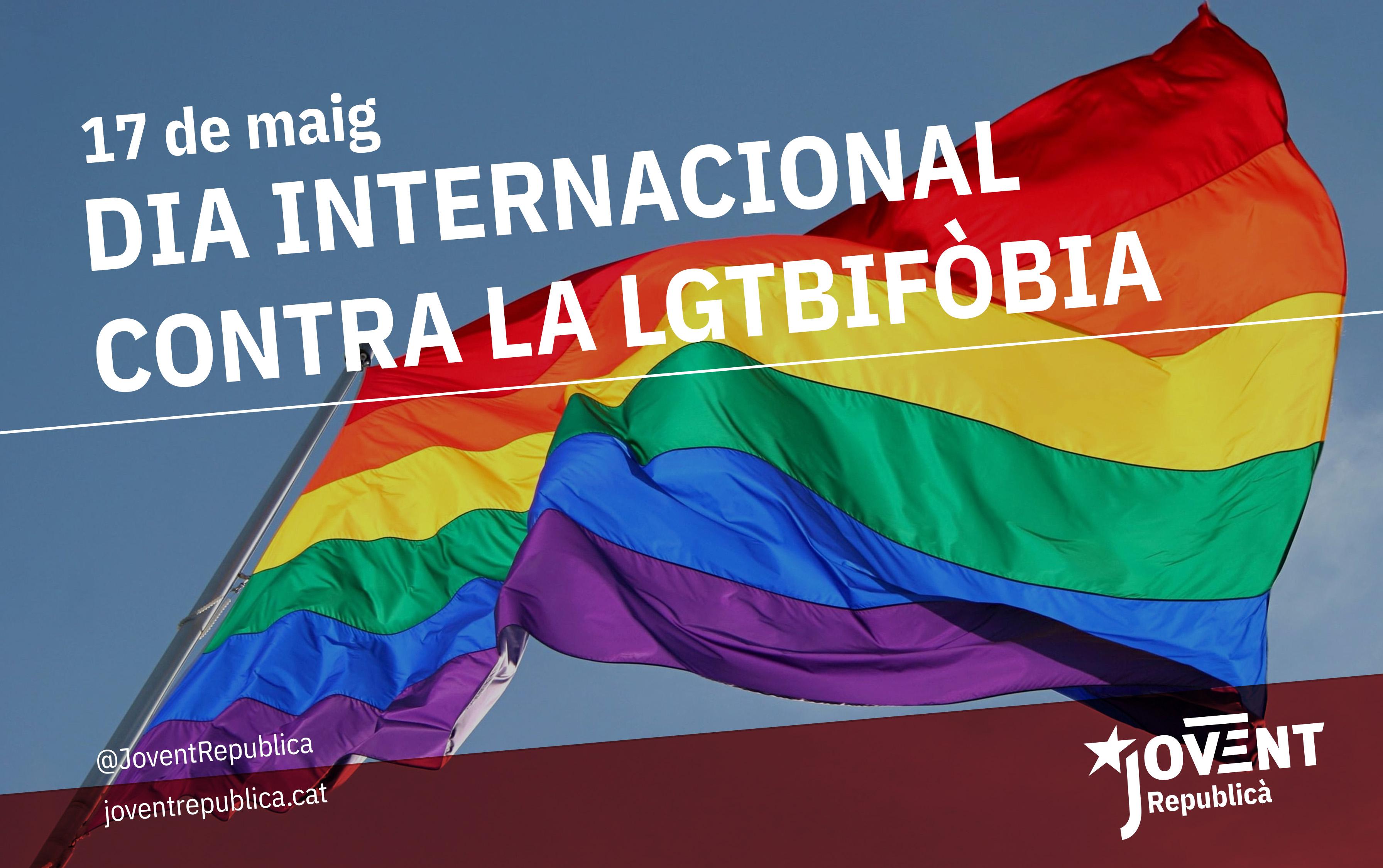 17 de maig: Dia Internacional contra la LGTBIfòbia