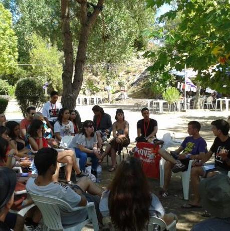 El Jovent Republicà participem al Acampamento Liberdade
