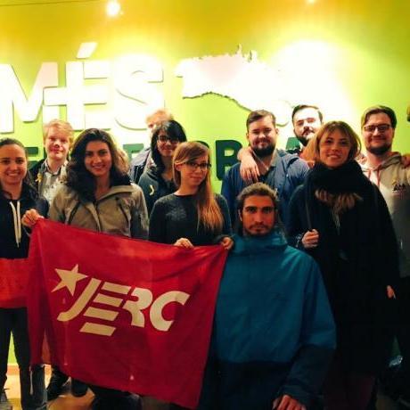 """Deu delegacions internacionals participen a la IV Trobada Internacional """"Youth for the Democratic Revolution"""" a Menorca"""