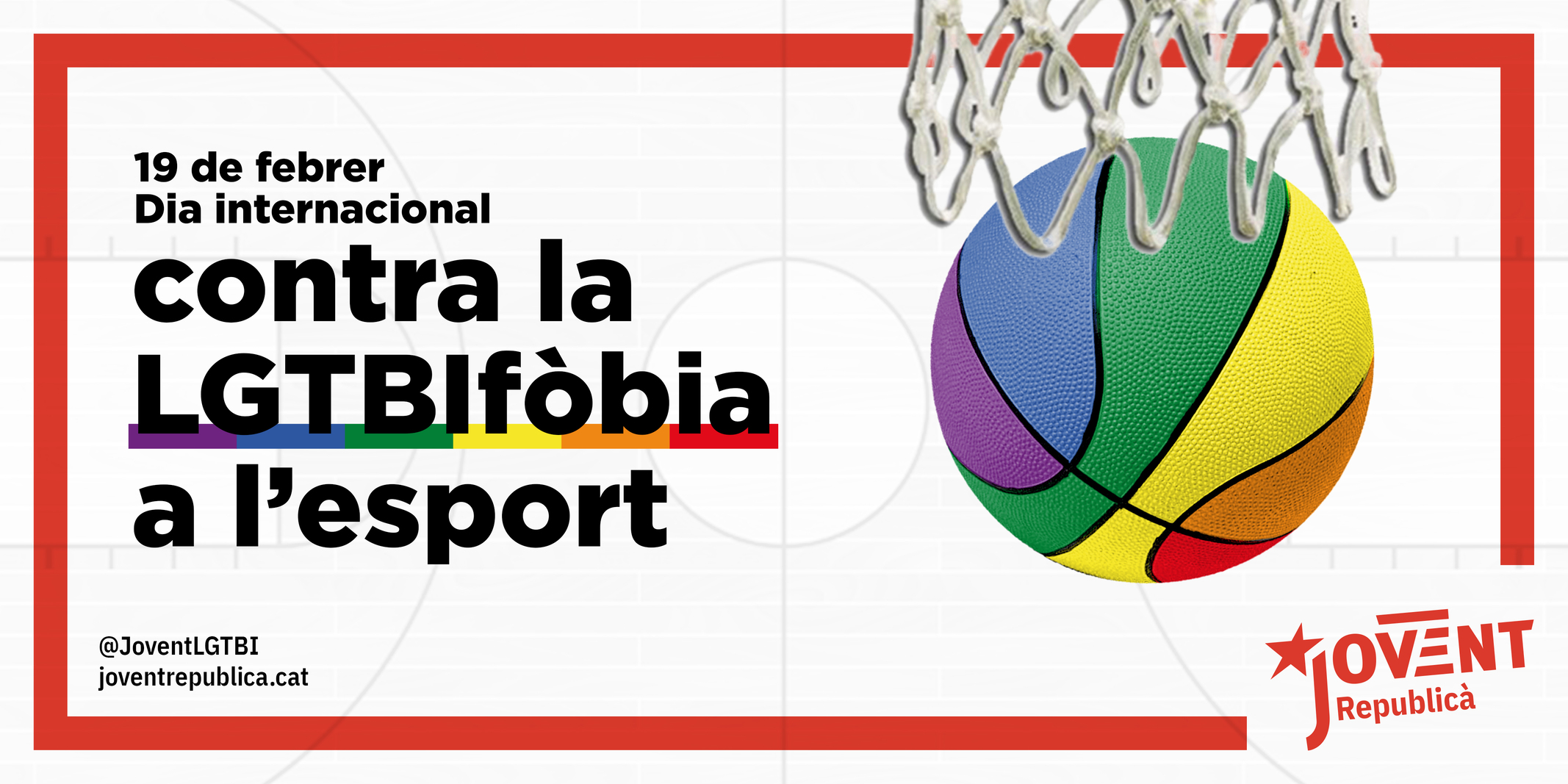 Tenim dret a fer esport sense odi ni discriminació!