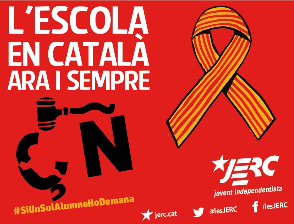 L'escolà en català, ara i sempre!