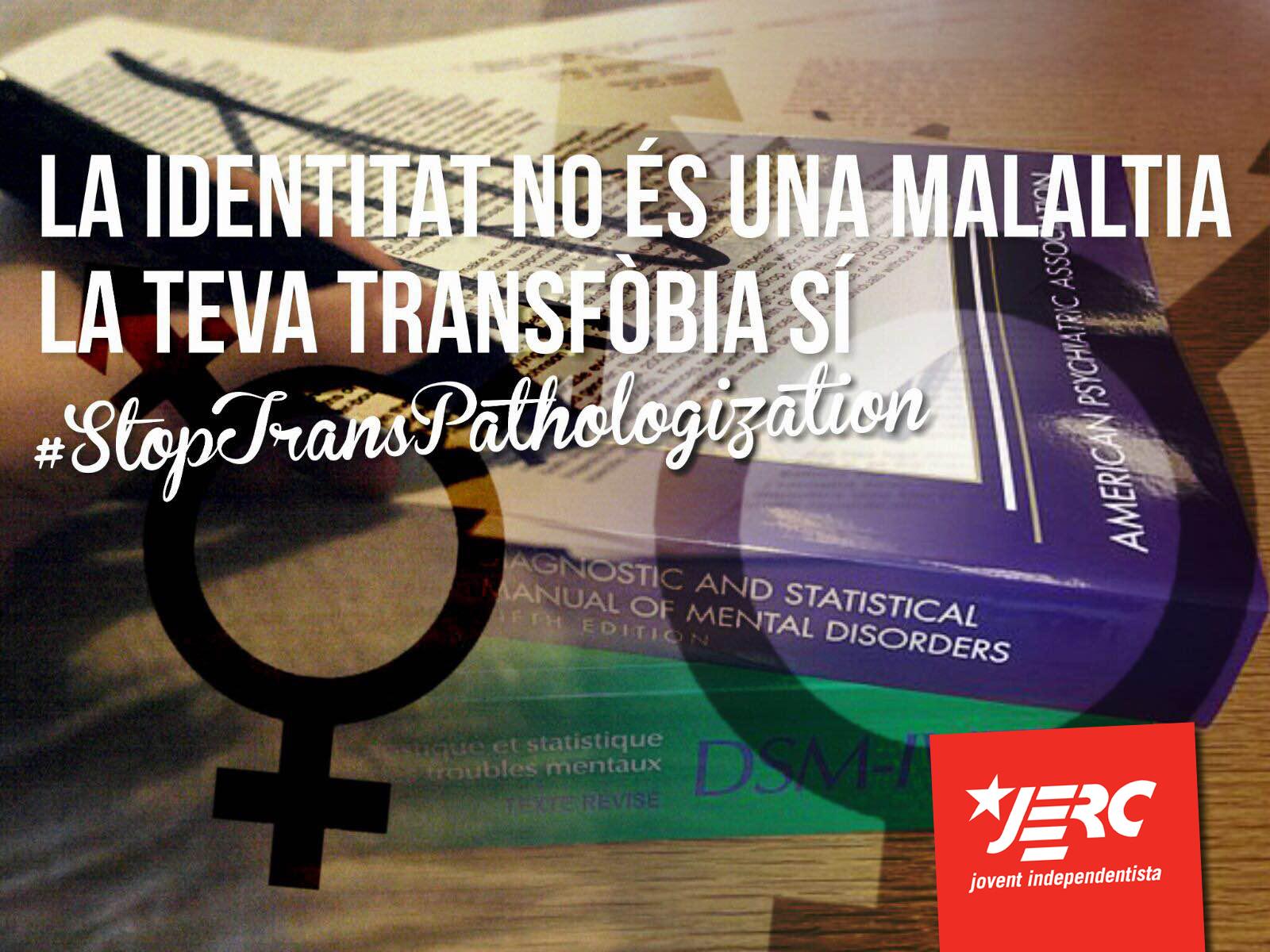 La identitat no és una malaltia