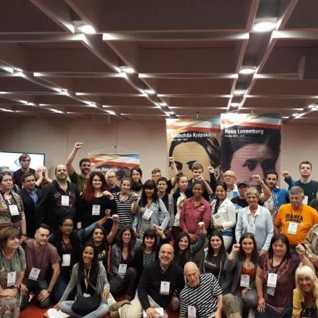 El Jovent Republicà vam participar a l'Asamblea Internacional de los Pueblos perquè defensem la sobirania dels Països Catalans igual que la sobirania de la resta de països del món